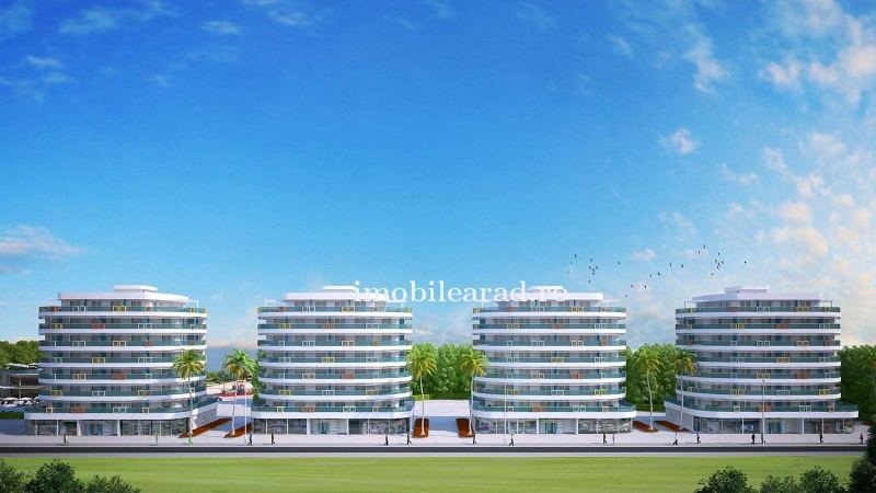 Proiect - PARK RESIDENCE -Studio apartment of 35 m² with 8.5 m² balcony only 250 meters from the beach.